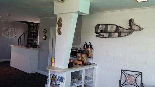 猎人绿酒店 - 鳕鱼角 - 西雅茅斯 - 食物