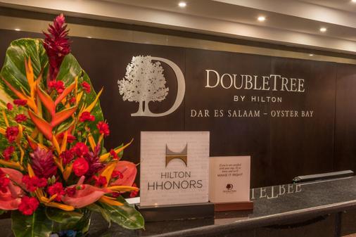 达累斯萨拉姆希尔顿逸林酒店-牡蛎湾 - 达累斯萨拉姆 - 柜台
