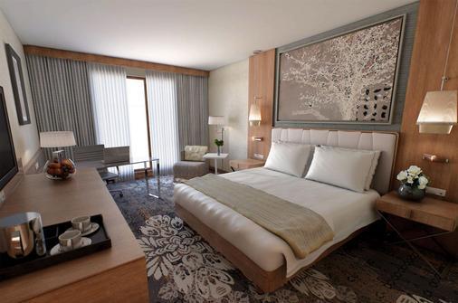 克拉科夫希尔顿逸林酒店及会议中心 - Krakow - 睡房