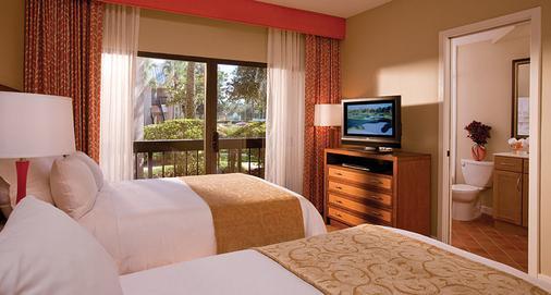 萨巴尔棕榈万豪酒店 - 奥兰多 - 睡房