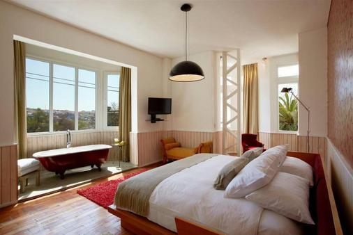 阿斯托雷卡宫酒店 - 瓦尔帕莱索 - 睡房