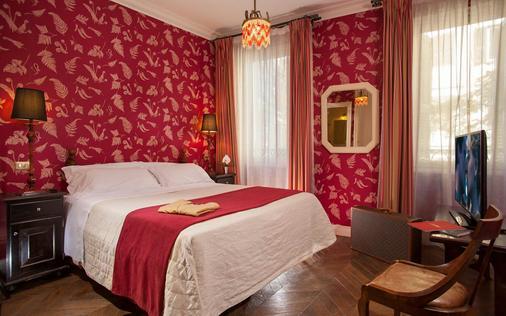 安娜海精品酒店 - 罗马 - 睡房
