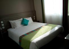 大气磅礴酒店 - 鲁西隆地区卡内 - 睡房
