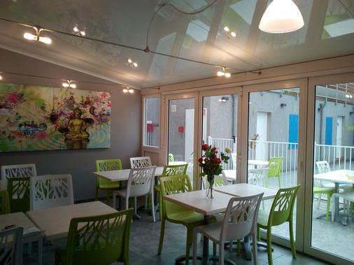 大气磅礴酒店 - 鲁西隆地区卡内 - 餐厅