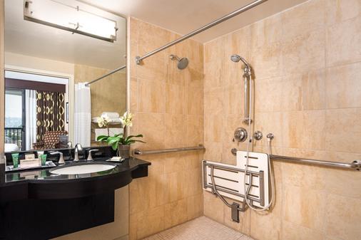 圣地亚哥机场哈勃尔岛希尔顿酒店 - 圣地亚哥 - 浴室
