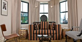 圣博托尔夫酒店 - 波士顿 - 客厅