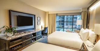 华盛顿特区码头洲际酒店 - 华盛顿 - 睡房