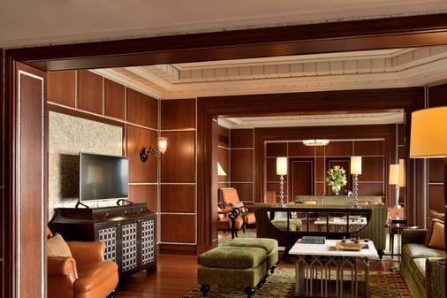 海得拉巴万豪会议中心酒店 - 海得拉巴 - 休息厅