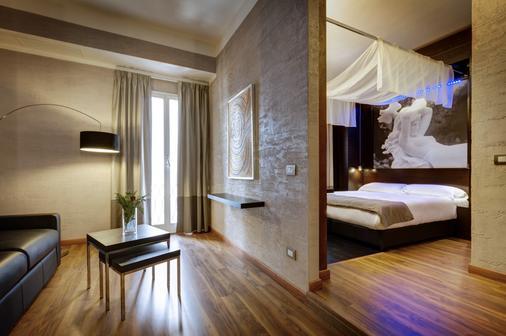 达尔马酒店 - 罗马 - 睡房