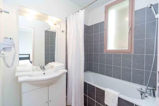 樱红南卡尔卡松公寓式酒店 - Carcassonne - 浴室