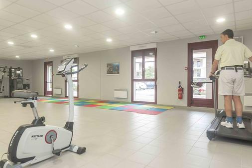 樱红南卡尔卡松公寓式酒店 - Carcassonne - 健身房