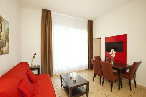 樱红南卡尔卡松公寓式酒店 - Carcassonne - 休息厅