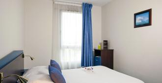 禅之卡尔卡松北住宅酒店 - 卡尔卡松 - 睡房