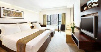 香港帝都酒店 - 香港 - 睡房