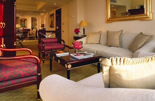尼罗河大厦酒店 - 开罗 - 客厅