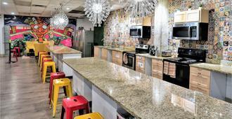 新奥尔良城市屋青年旅舍 - 新奥尔良 - 厨房
