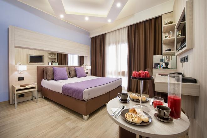 特拉帕尼酒店 - 特拉帕尼 - 睡房