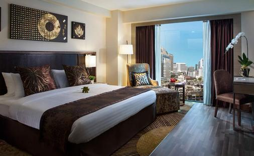 瑞士公园酒店 - 曼谷 - 睡房