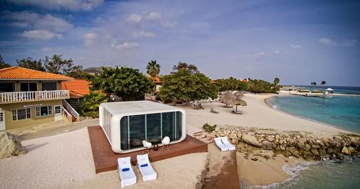弗洛里斯套房水疗酒店及海滩俱乐部 - 威廉斯塔德 - 建筑