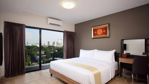 曼谷希瓦公寓 - 曼谷 - 睡房