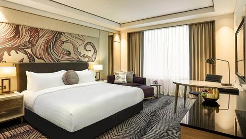 新山阿玛瑞酒店 - 柔佛巴鲁 - 睡房