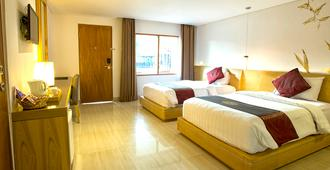 库塔海滩俱乐部酒店 - 库塔 - 睡房