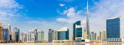 迪拜布斯坦罗塔娜酒店 - 迪拜 - 建筑