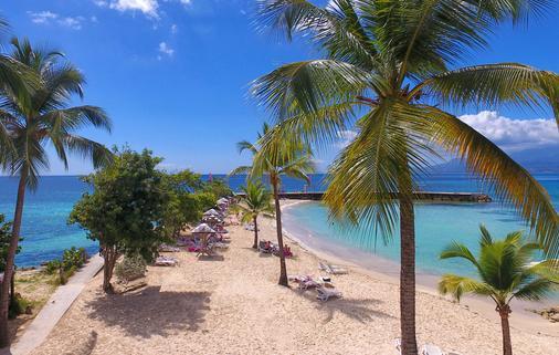 红木公寓spa酒店 - Le Gosier - 海滩
