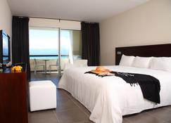 红木公寓spa酒店 - 戈齐尔 - 睡房