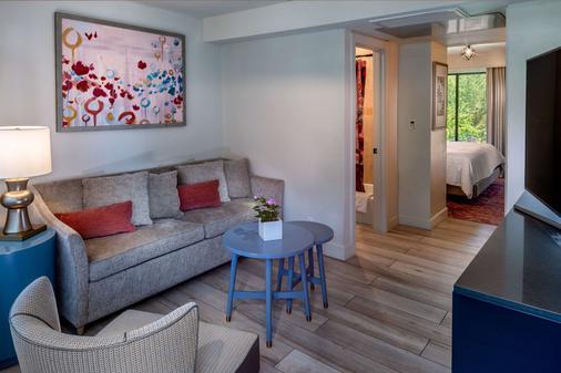 锡安国家公园克里夫罗斯花园旅馆 - 斯普林代尔 - 客厅