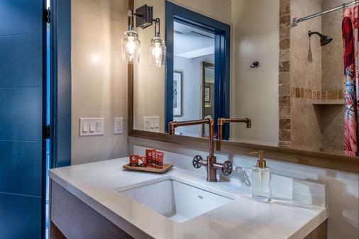 锡安国家公园克里夫罗斯花园旅馆 - 斯普林代尔 - 浴室