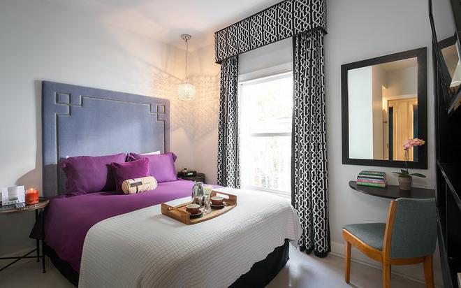比弗利山庄新月酒店 - 比佛利山庄 - 睡房