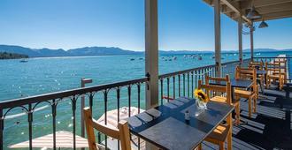 太浩湖海滩度假酒店及旅馆 - 南太浩湖 - 餐馆