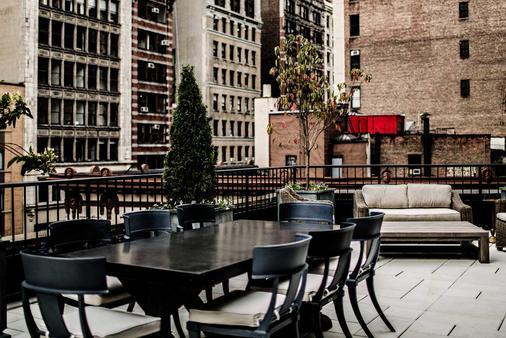 诺玛德酒店 - 纽约 - 阳台