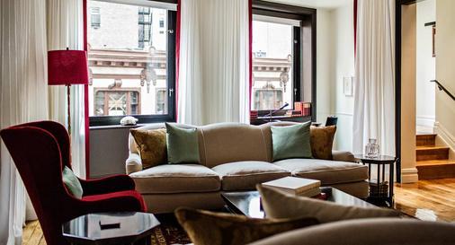 诺玛德酒店 - 纽约 - 客厅