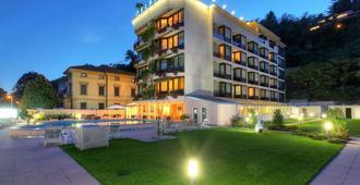 德尔菲努酒店 - 卢加诺 - 建筑