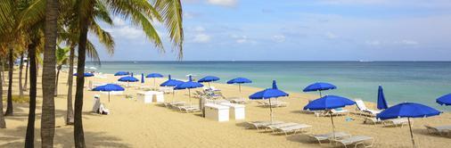 海洋度假村俱乐部酒店 - 劳德代尔堡 - 海滩