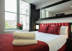 干草市场中心酒店 - 爱丁堡 - 睡房
