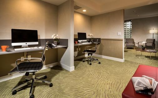 阿文图拉酒店 - 洛杉矶 - 商务中心