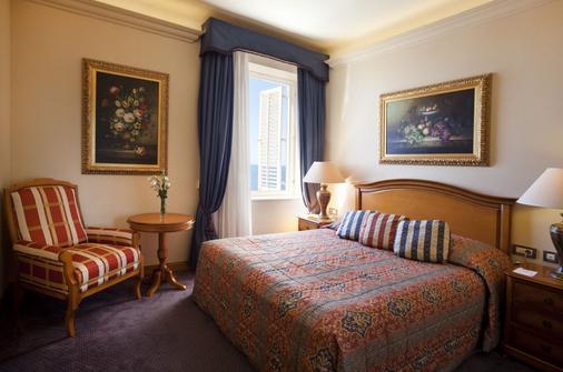 吉拉维克别墅酒店 - 杜布罗夫尼克 - 睡房