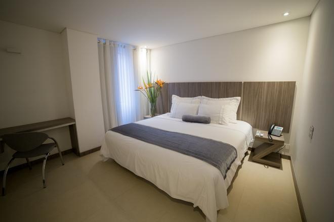 托雷波夫拉多公寓酒店 - 麦德林 - 睡房