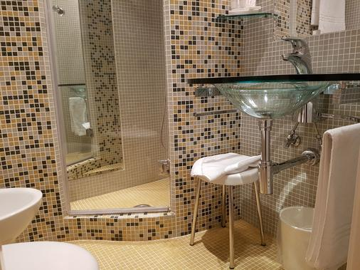 贝斯特韦斯特帕拉迪索酒店 - 那不勒斯 - 浴室