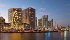 迈阿密万豪酒店比斯坎湾 - 迈阿密 - 建筑
