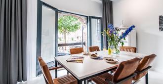 肖给兹葛拉克特雅伊兹宾精品公寓酒店 - 阿姆斯特丹 - 餐厅