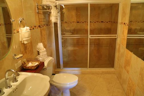 乐城堡酒店 - 馬拿瓜 - 浴室