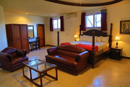 乐城堡酒店 - 馬拿瓜 - 睡房