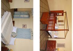 杜帕克酒店 - 蓬蒂切里 - 睡房