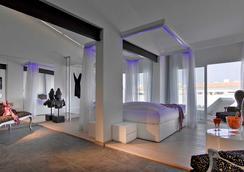 乌斯怀亚伊维萨海滩酒店-仅限成人 - Sant Jordi de ses Salines - 睡房
