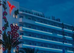 乌斯怀亚伊维萨海滩酒店- 仅限成人 - 圣乔治 - 建筑