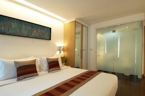市角酒店 - 曼谷 - 睡房